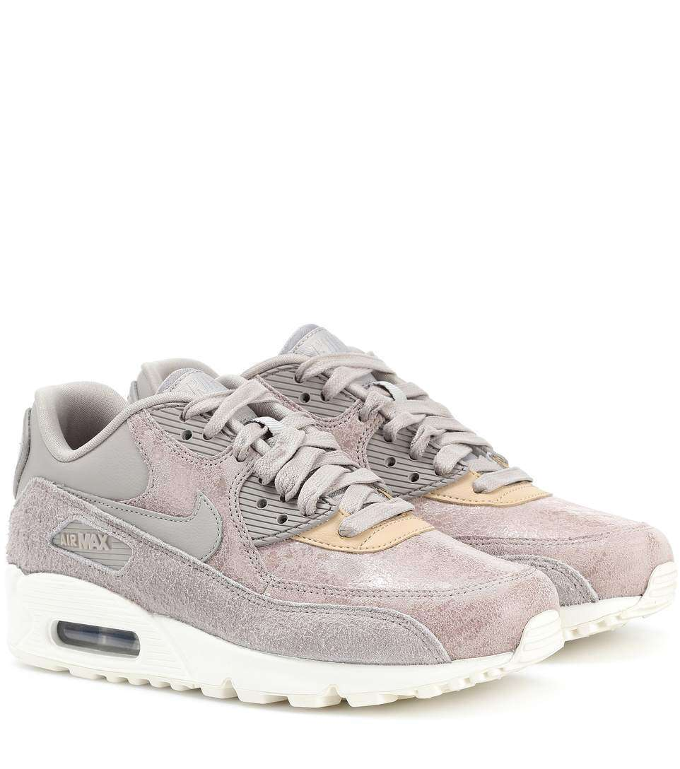 Sneakers Air Max 90 in suede