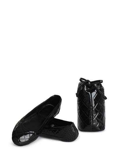 Set pantofole Burberry nero