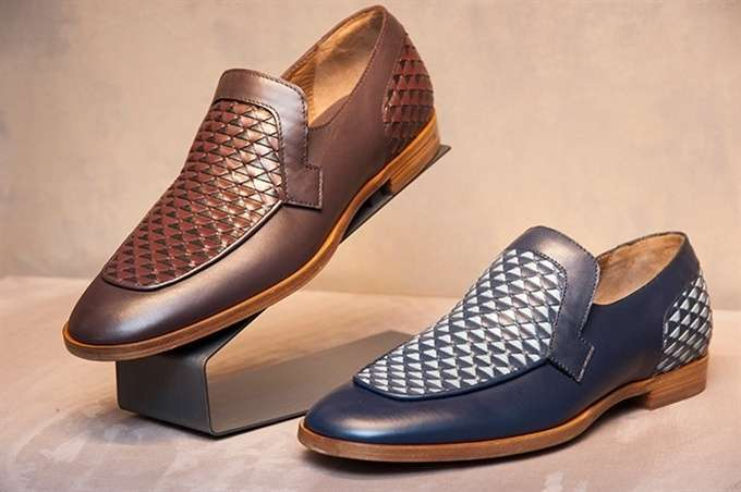Mocassini in pelle da uomo Jimmy Choo