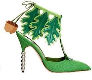 Manolo Blahnik P/E 2012, pumps scultura