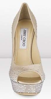 Jimmy Choo, peep-toe Sugar