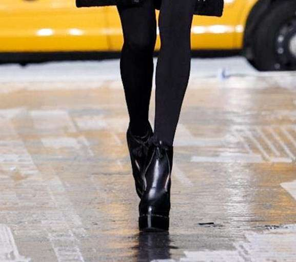 DKNY, A/I 2012-2013: ankle boot