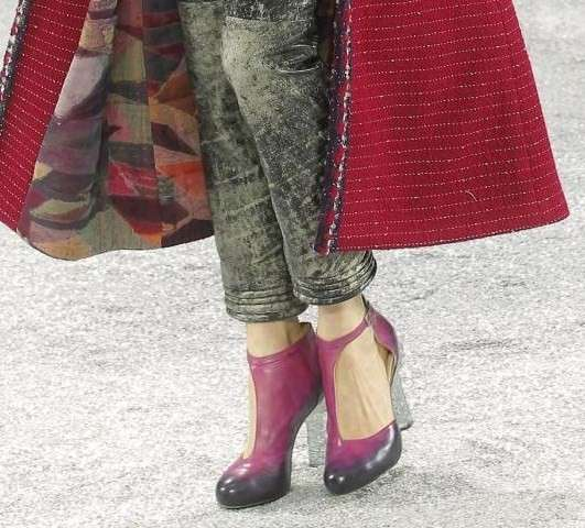 Chanel, A/I 2012-2013: pumps magenta