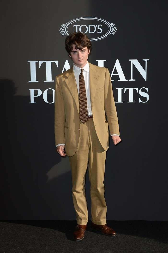 Ludovico Bonaccorsi all'evento Tod's