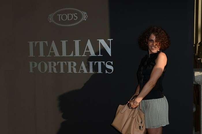 Talitha Puri Negri all'evento Tod's