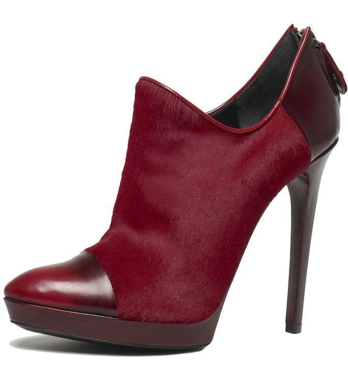 Donna Karan, ankle boot rossi
