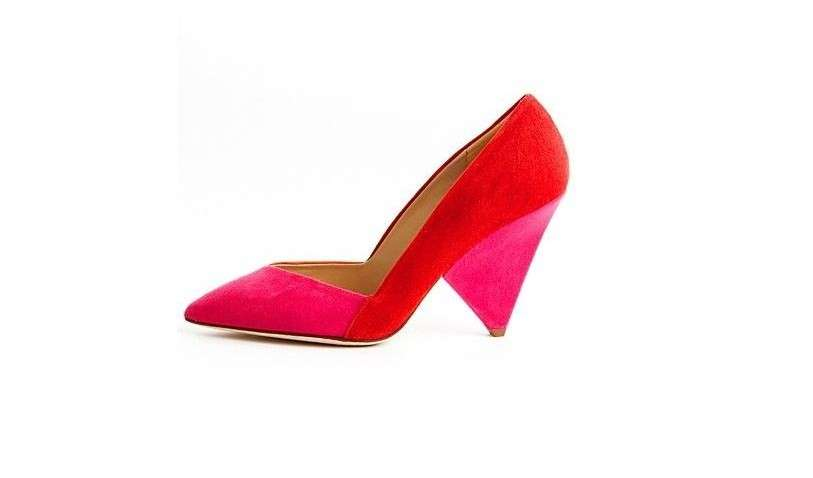 Scarpe Diane Von Furstenberg, pumps in color block