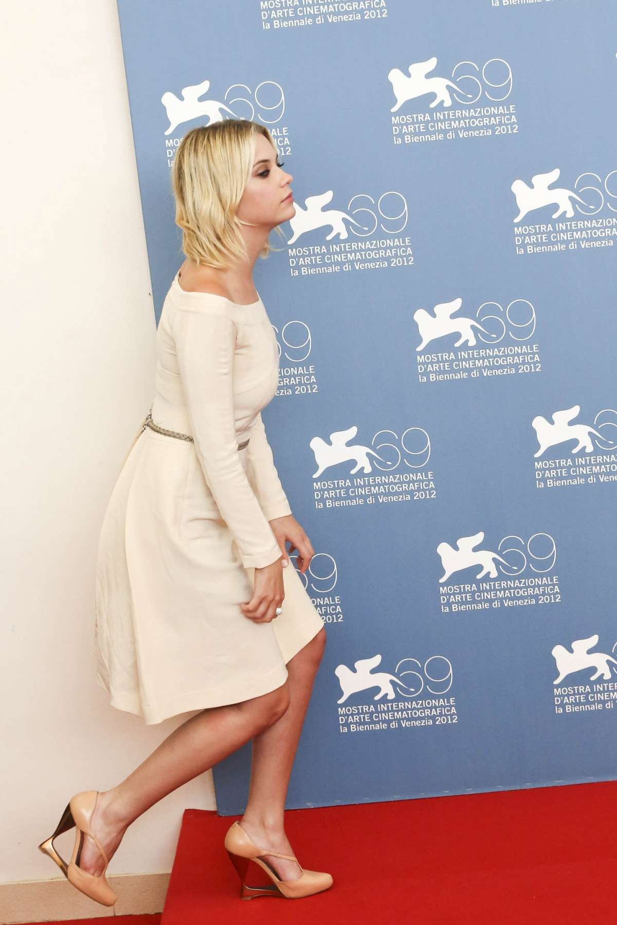 Ashley Benson al photocall del film Spring Breakers