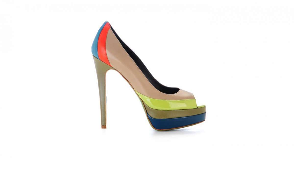 Ruthie Davis, pumps Popsicle in color block