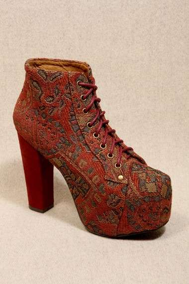 Jeffrey Campbell, stringate con stampa