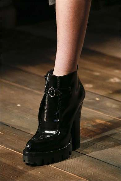 Ankle boot neri Prada