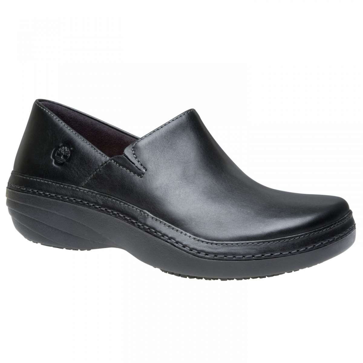 Mocassini donna Timberland in pelle nera