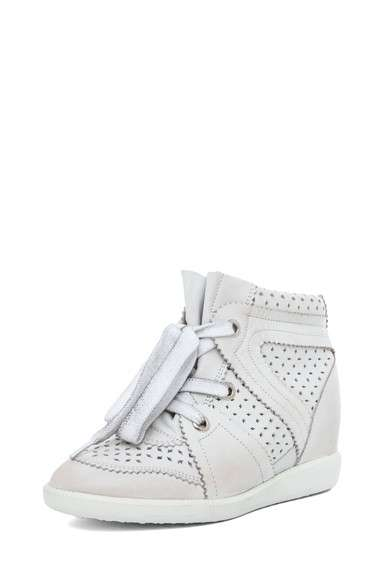 Sneakers traforate bianche
