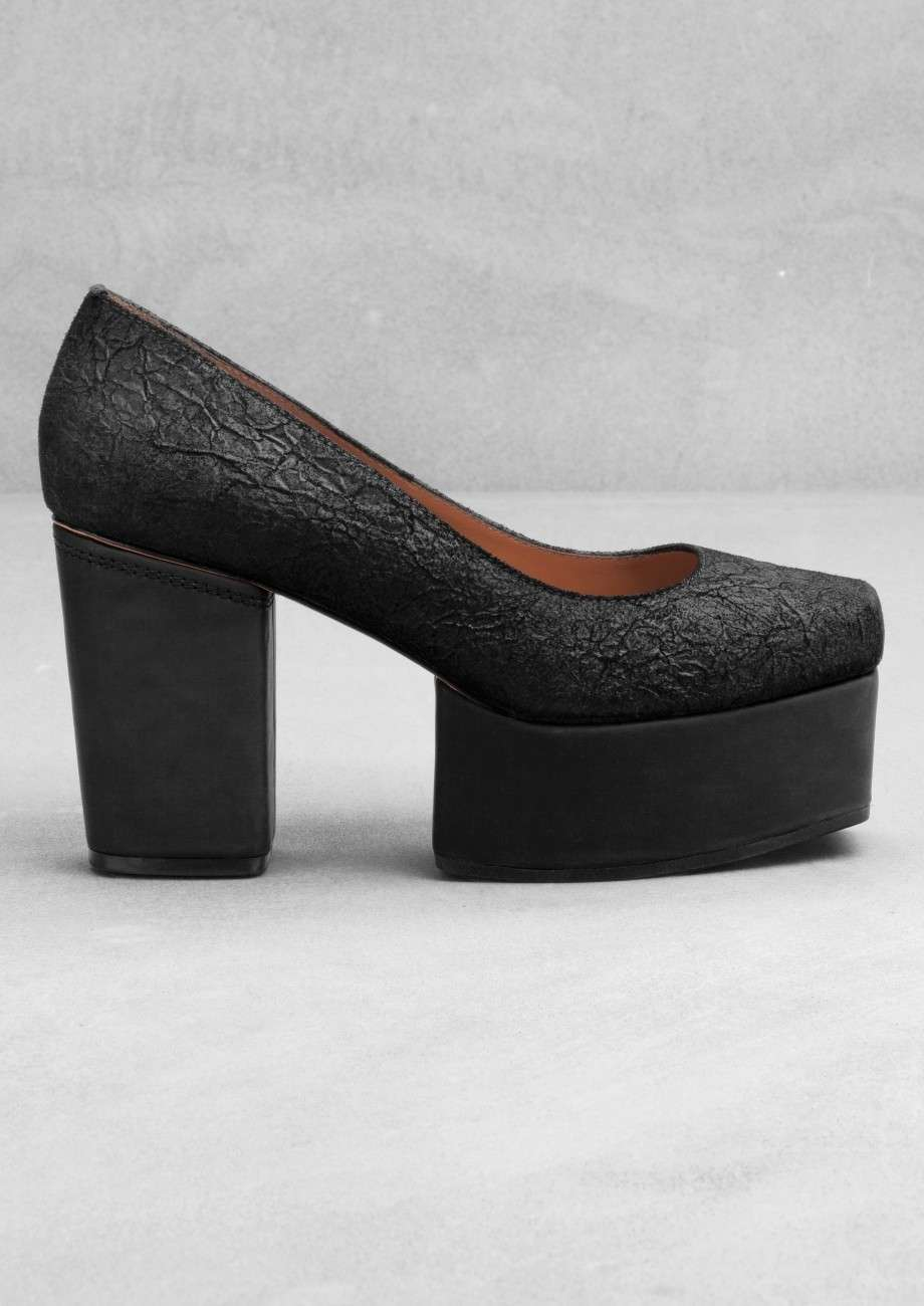 Pumps nere platform
