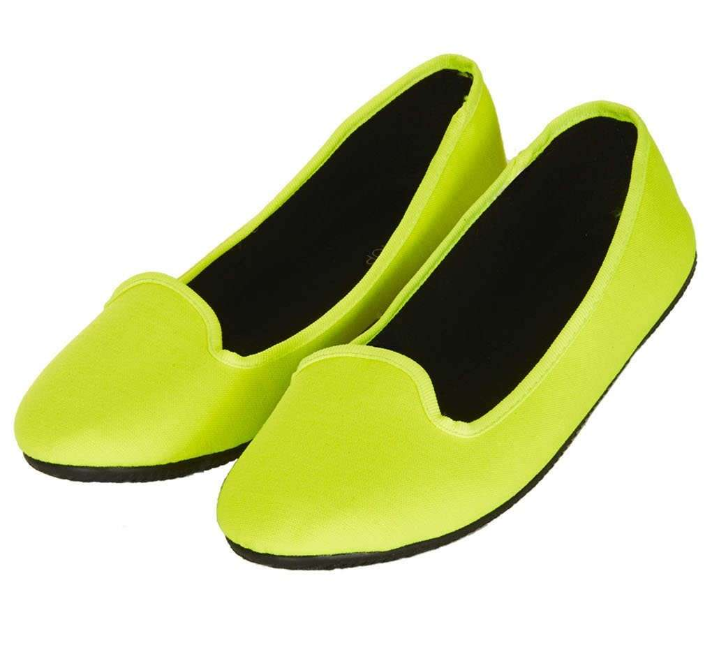 Slippers fluo