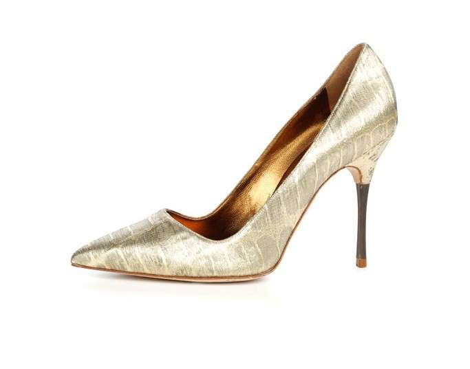 Pumps Manolo Blahnik laminate
