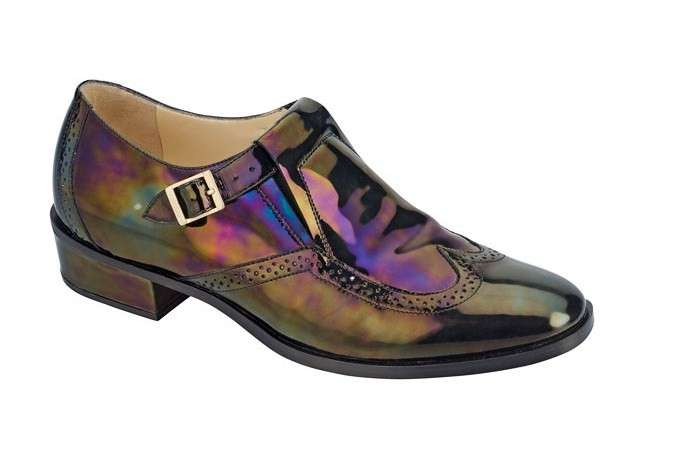 Mocassini laminati Jimmy Choo