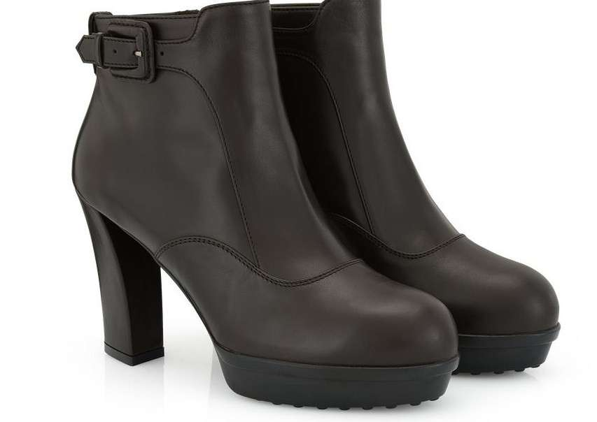 Ankle boot neri Tod's