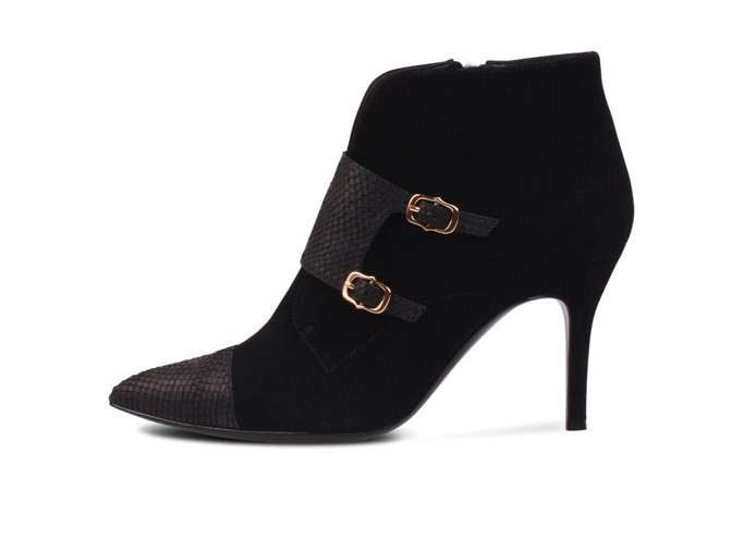 Ankle boot combinati
