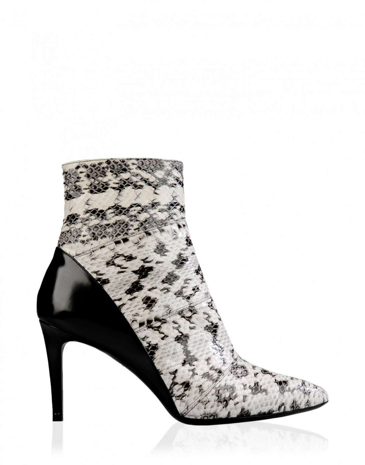 Ankle boot in pitone Barbara Bui a punta