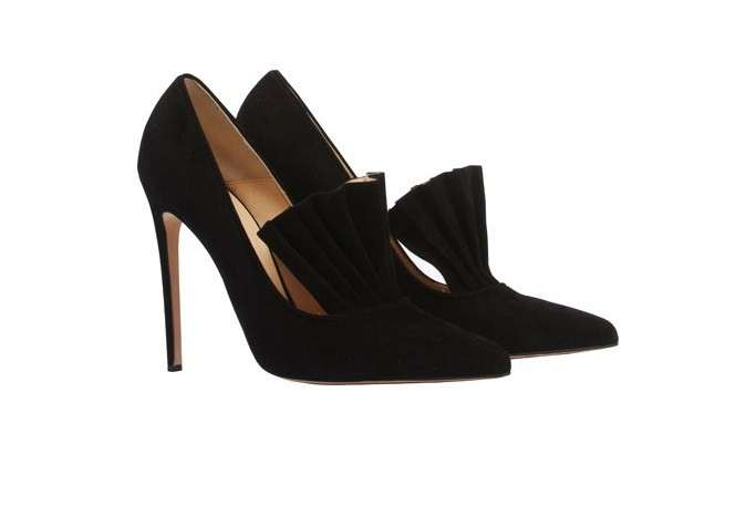 Pumps in suede Bionda Castana