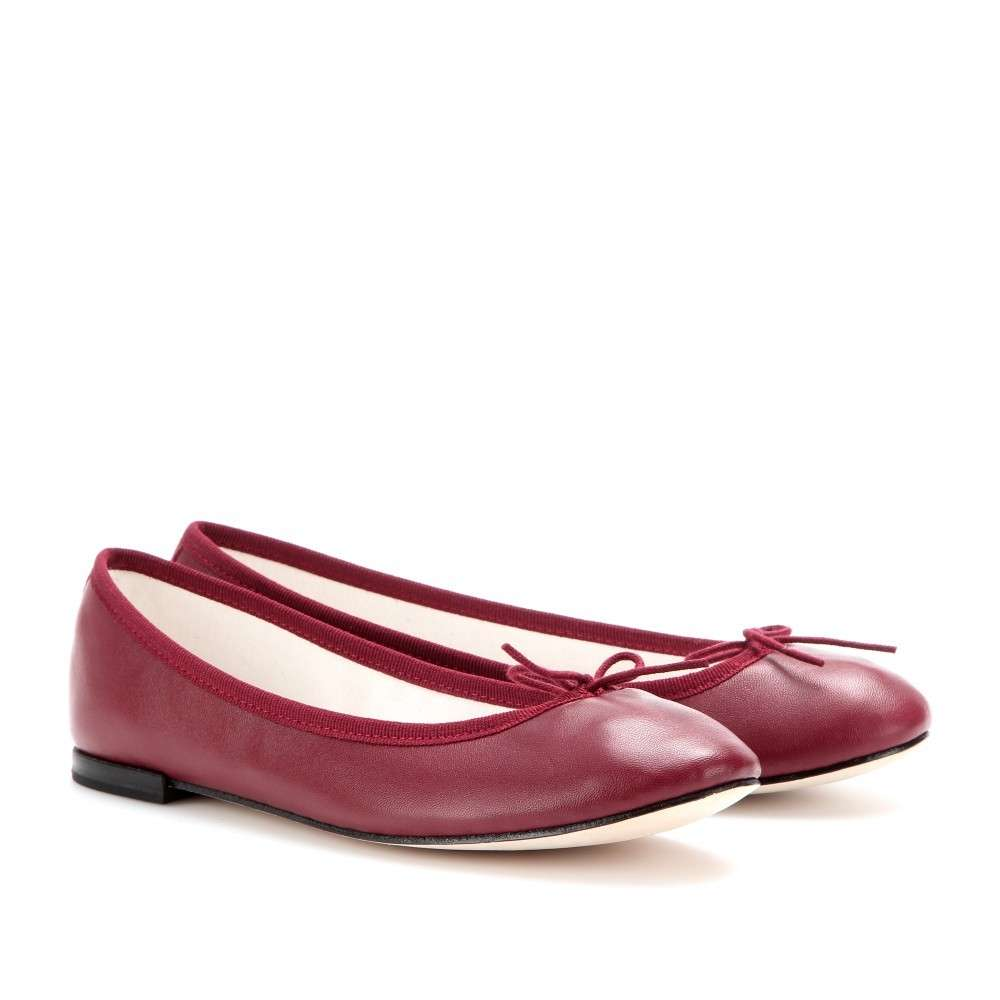 Ballerine Repetto bordeaux