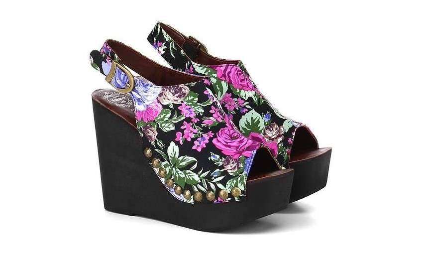 Zeppe stampate Jeffrey Campbell