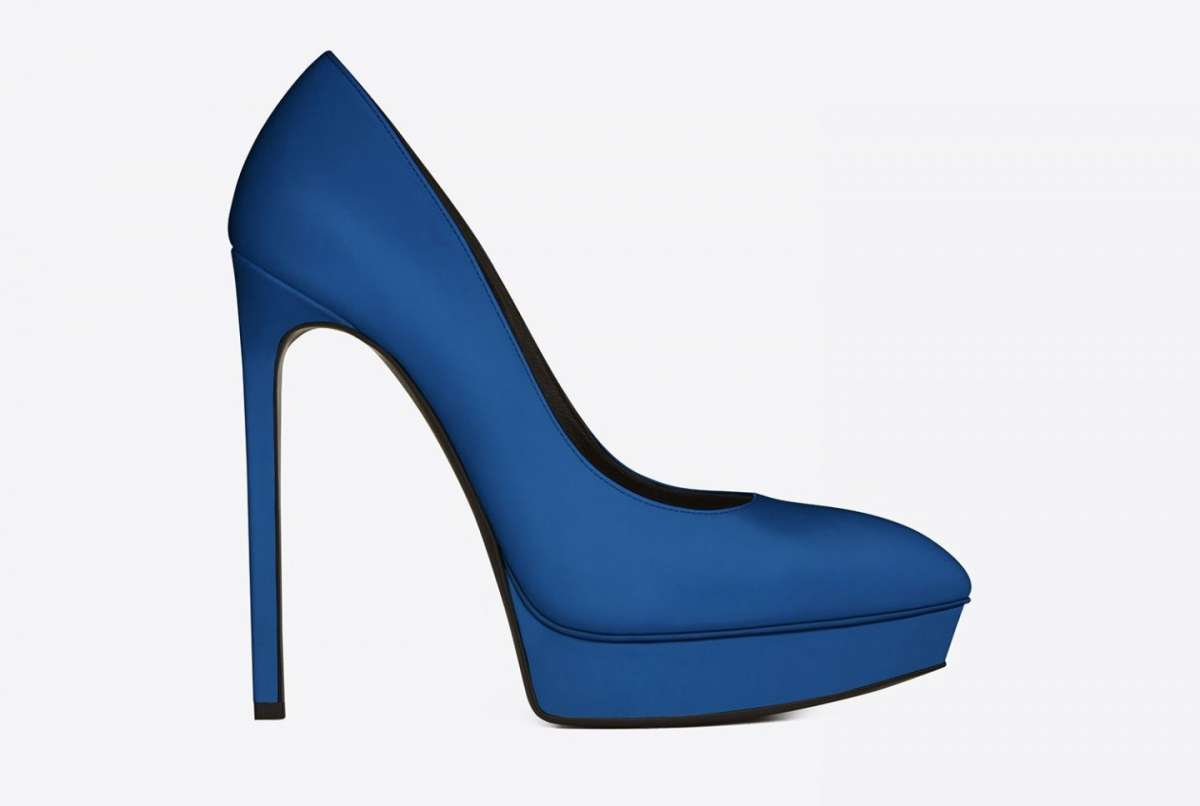 Dècolletès Janis Saint Laurent blu