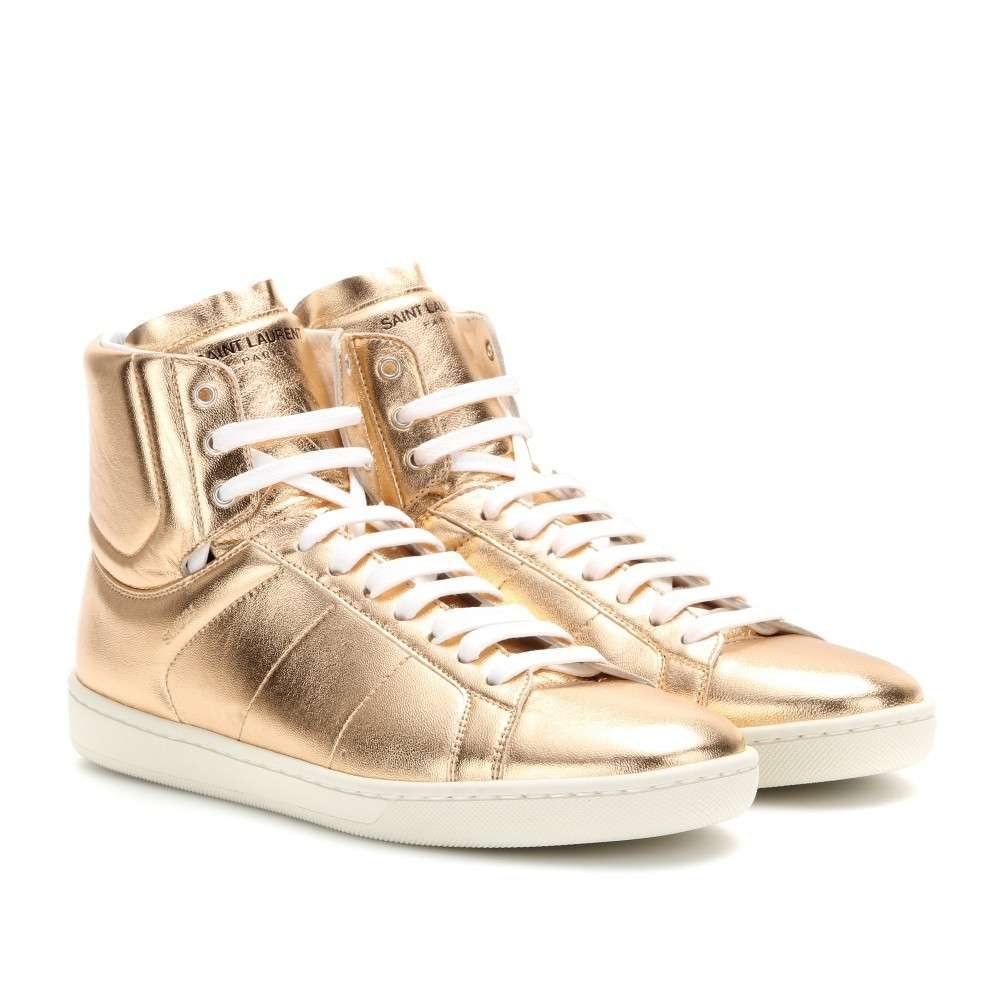 Sneakers Saint Laurent oro