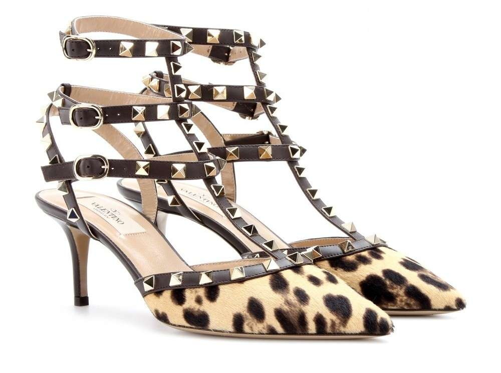 Mary Jane Rockstud Valentino maculate