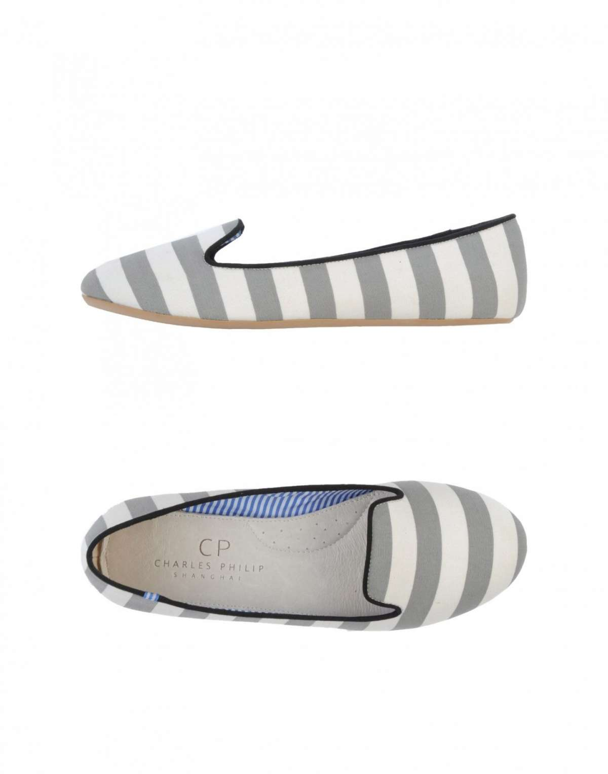 CP Charles Philip Shangai slipper a righe
