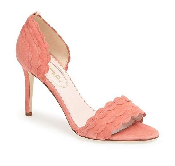 Peep-toe Sjp orange