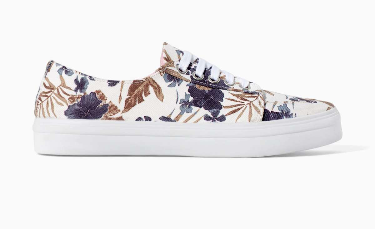 Sneakers con stampa Zara TRF