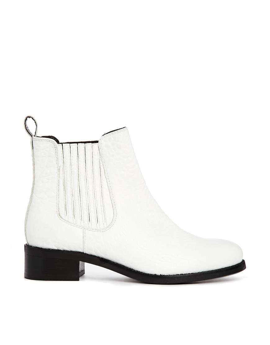 Ankle boot bianchi Asos