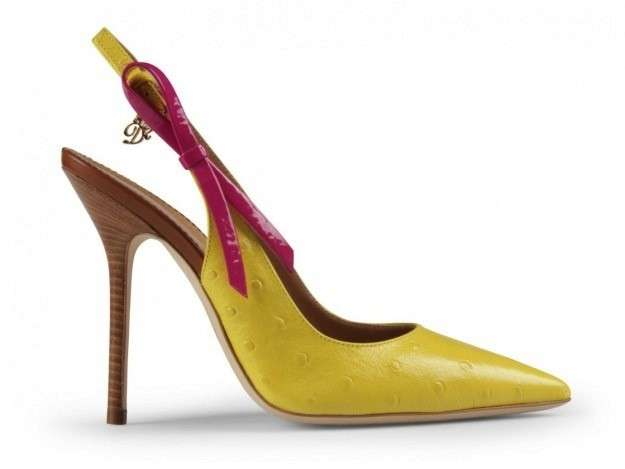 DSquared2 slingback gialle