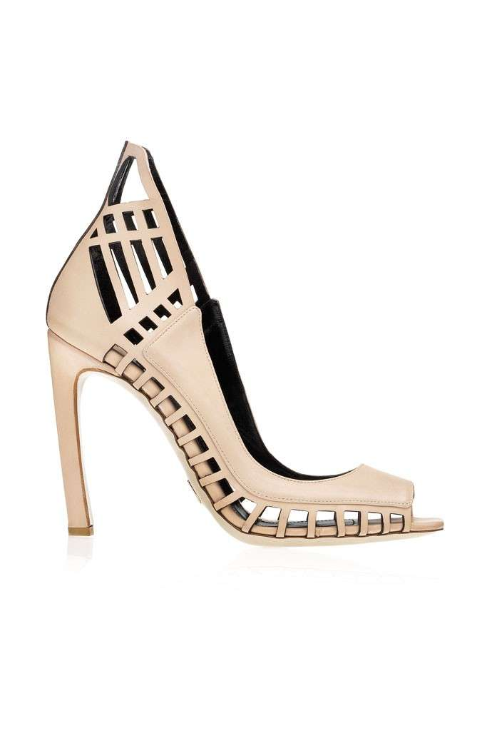 Pumps laser cut Daniele Michetti