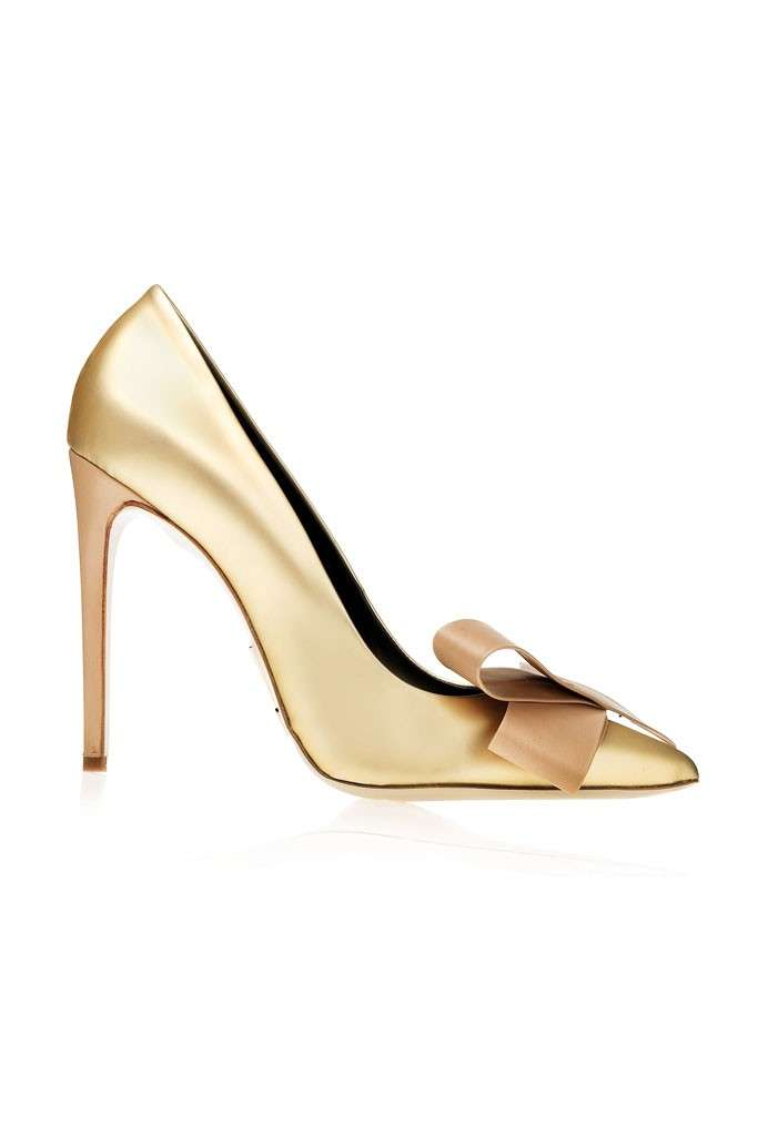 Pumps oro Daniele Michetti