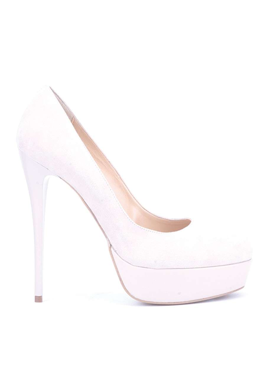 Pumps total white