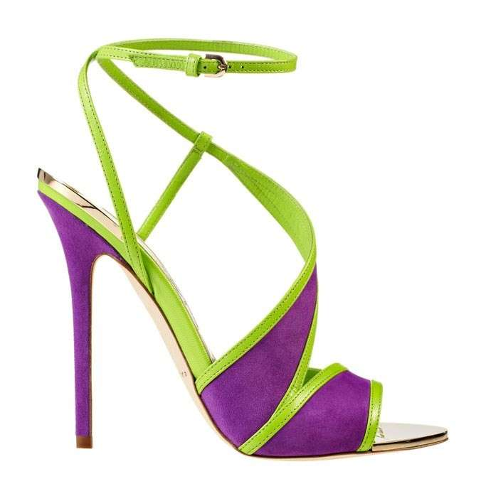 Sandali fluo Brian Atwood