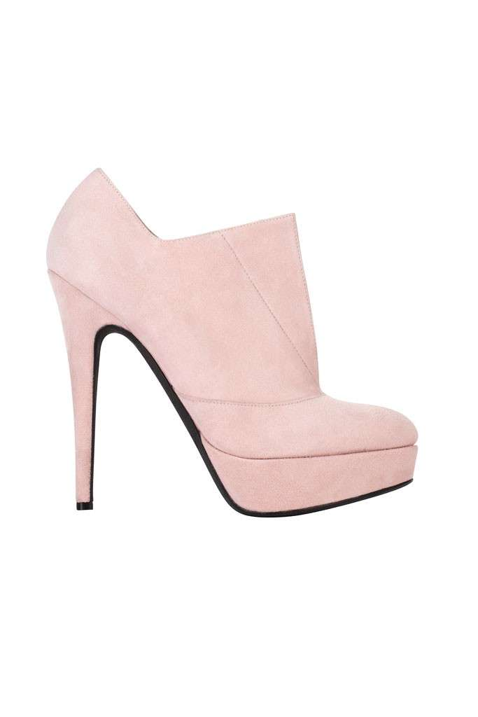 Ankle boot rosa Giambattista Valli
