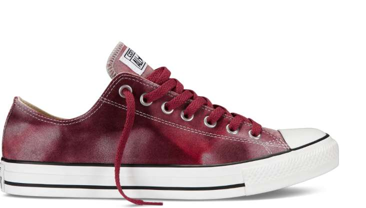 Sneakers stinte bordeaux