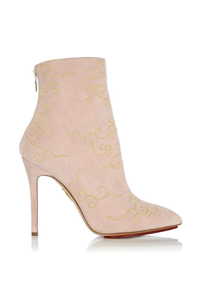 Ankle boot rosa Charlotte Olympia