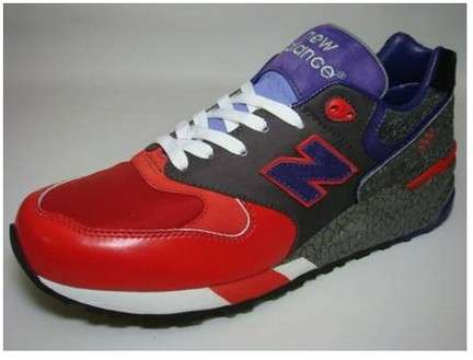 new balance sneakers limited edition rosso