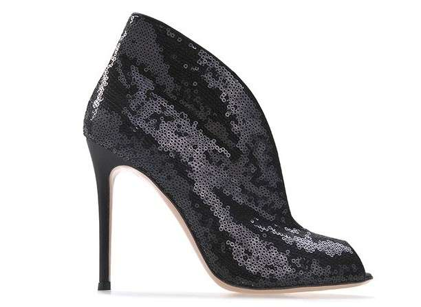 Ankle boot glitter
