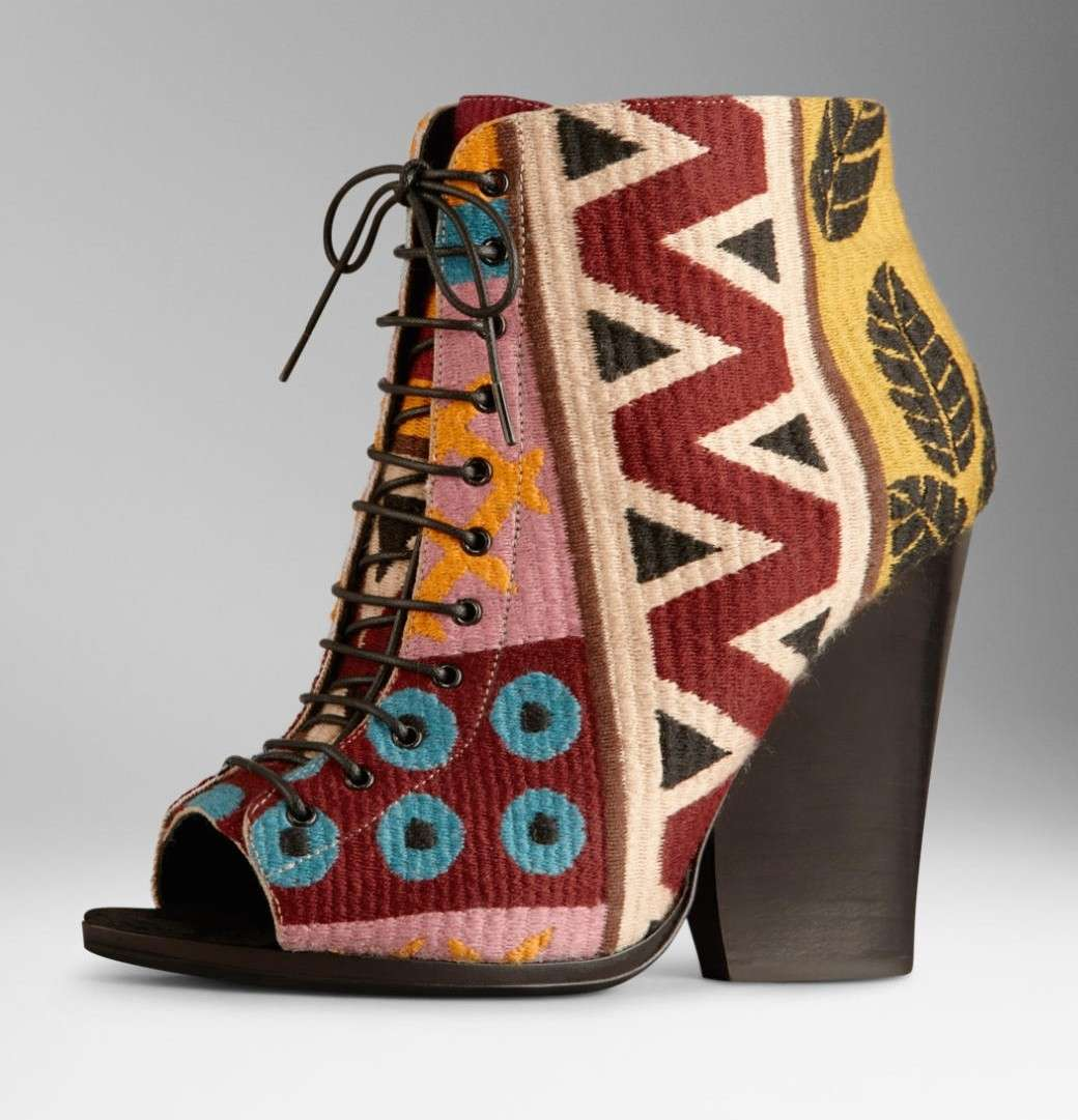 Ankle boot multicolor Burberry Prorsum