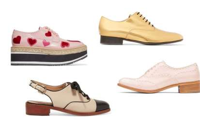 Scarpe stringate donna Primavera Estate 2017
