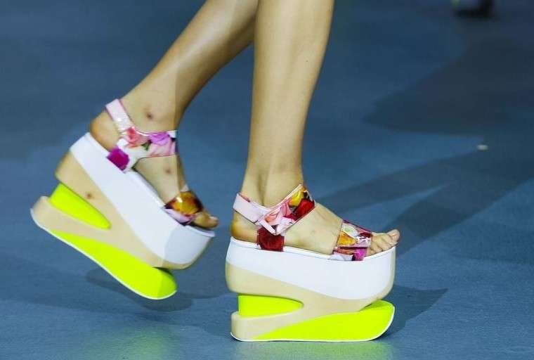 Le scarpe donna dalla London Fashion Week Primavera Estate 2016