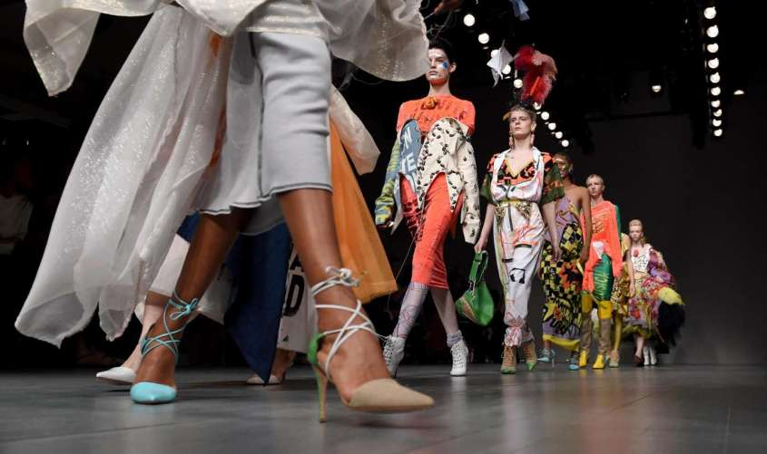 Le scarpe donna dalla London Fashion Week Primavera Estate 2019