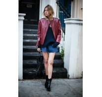Shorts jeans con Chelsea boots