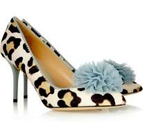 Pumps maculate Charlotte Olympia